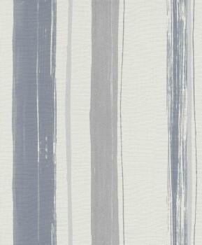 Erismann Sevilla 33-5985-37, 598537 Vliestapete grau Streifen Schlafzimmer