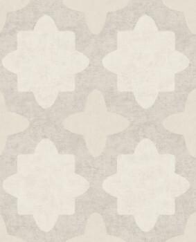 Eijffinger Lounge 55-388740 Vliestapete grafisches Muster beige