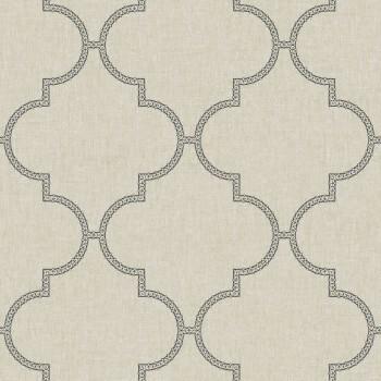 36-FAO69049010 Caselio - Faro Texdecor beige Muster-Tapete Vlies