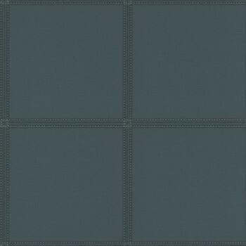 Vliestapete Grün quadrat Polsteroptik Rasch Club 419054