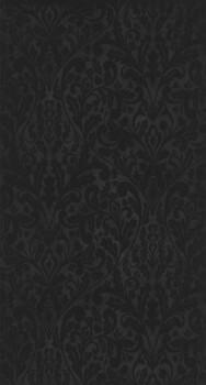36-PGE80779717 Casadeco - Prague Texdecor floral schwarz Tapete