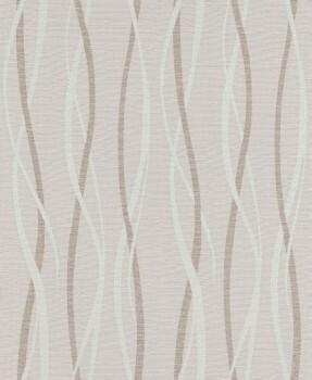 Erismann Sevilla 33-5987-02, 598702 Vliestapete beige Streifen Wohnzimmer