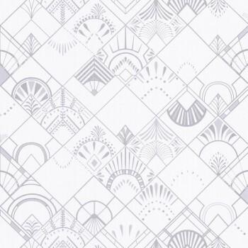 Caselio - Scarlett 36-SRL100450017 Texdecor weiß silber Mustertapete Vlies