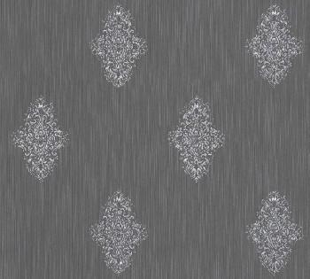 AS Creation Architects Paper Luxury Wallpaper 319464, 8-31946-4 Vliestapete grau silber