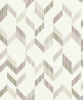 Naturfarben Vlies-Tapete Glitzer Muster