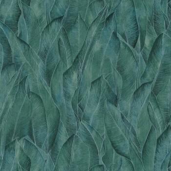 Tapete grün Blättermuster Casamance - Rio Madeira 48-74280374