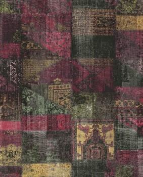 Eijffinger Masterpiece 55-358030, Vliestapete bunt schwarz