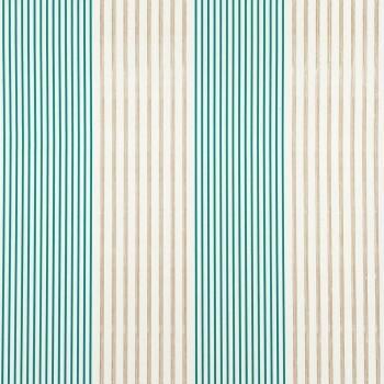 Tapete grün creme Streifen Casamance - Portfolio 48-74010370