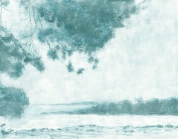 Grün-Blau Wandbild Aussicht Natur Tenue de Ville ODE 62-ODED190109