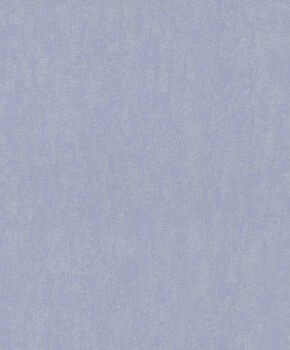 Hell-Blau Tapete Vlies Flur Unitapete