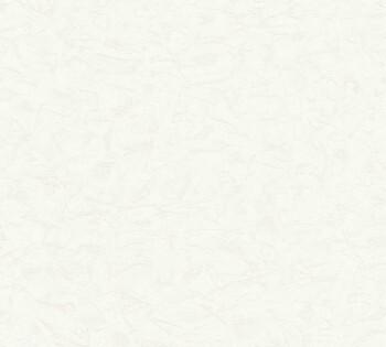 AS Happy Spring 8-35182-2 gespachtelt Uni creme-weiß Vlies-Tapete