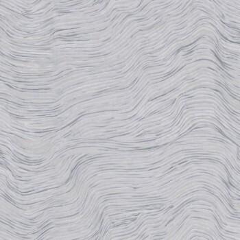 Wellen Tapete Hellblau Silber 62-SAU210311 Tenue de Ville SAUDADE
