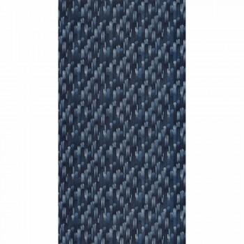 Nachtblau Vliestapete Holz