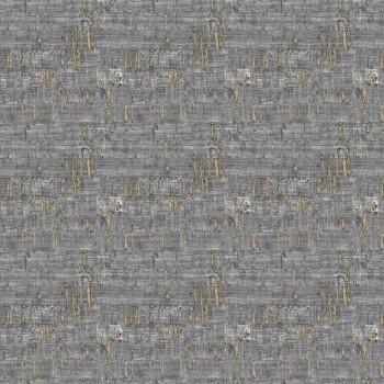 Gold Dunkelgrau Mustertapete 62-SAU210511 Tenue de Ville SAUDADE
