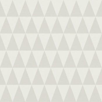23-148668 Boho Chic Rasch Textil Tapete Dreiecke hellelfenbein