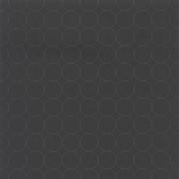 Tapete Kreise schwarz 36-VISI83689505 Casadeco - Vision