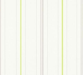 Vliestapete AS Creation Happy Spring 8-34764-1 Streifen hell-grün