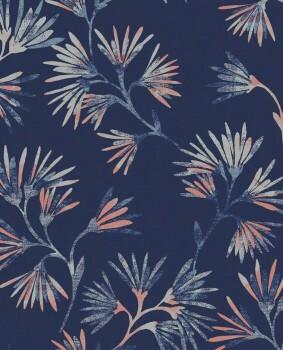 Eijffinger Enso 55-386542 Blumen dunkelblau Vliestapete