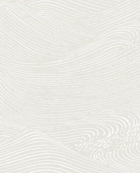 55-386530 Eijffinger Enso Wellen grafisch Vliestapete beige