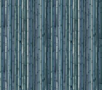 Blau Vlies Wandbild Bambus Tenue de Ville ODE 62-ODED190215