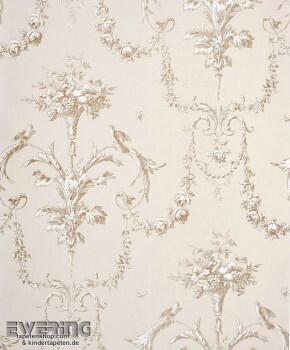 Casadeco - Chantilly 36-CHT22941127 Ornament beige Vliestapete
