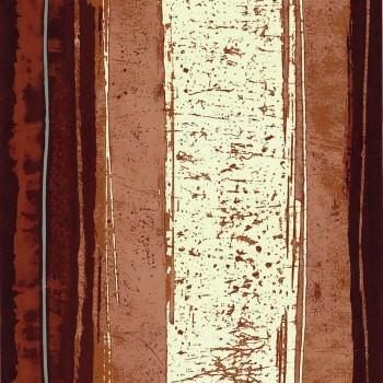 Tapete rot Streifen Abstrakt Casamance - Estampe 48-74040337