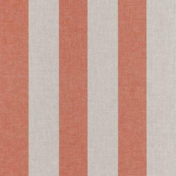 36-FAO69033019 Caselio - Faro Texdecor Tapete Streifen rot beige