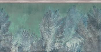 Wandbild Blau-Grün Palmenblätter Tenue de Ville ODE 62-ODED190909