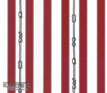 Strictly Stripes 23-362304 rot-weiß Streifen Vlies-Tapete