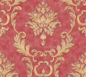 AS Creation Architects Paper Luxury Wallpaper 324226, 8-32422-6 Vliestapete rot gold