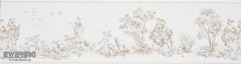 Casadeco - Chantilly 36-CHT22931129 Borte Toile de Jouy beige