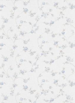 Erismann Vie en Rose 33-5824-08, 582408 Vliestapete blau Schlafzimmer