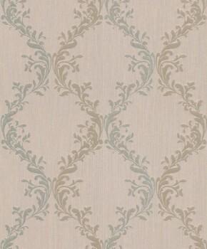 Rasch Textil Velluto 23-074856 Textiltapete braun Flur Barock Ornamente