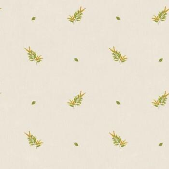 Caselio - Bon Appetit Vlies-Tapete 36-BAP68372018 Kräuter beige grün