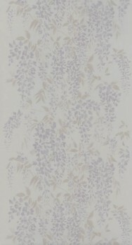 Blumentapete Lila