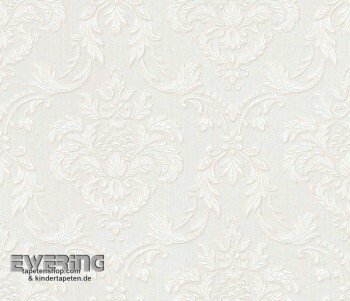 23-078014 Liaison Rasch Textil creme-weiß Ornament Textiltapete