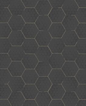 Eijffinger Enso 55-386581 grafisches Muster Vliestapete schwarz