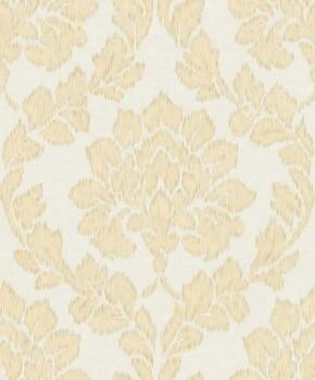 37-OR3403 Grandeco Origine blass-orange creme Vlies Tapete Ornamente