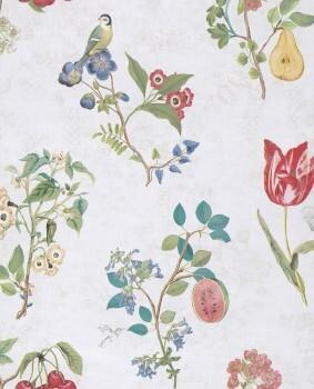 Eijffinger PIP Studio 55-375020, Vliestapete beige, bunt Blumen