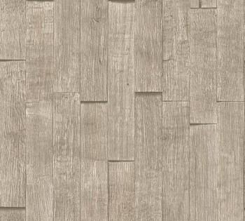 Vliestapete AS Creation Best of Wood'n Stone 35584-4 warm-grau Holzoptik