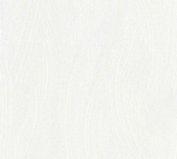 8-35424-1 Vliestapete Happy Spring AS Creation creme-weiß Spachtel Uni