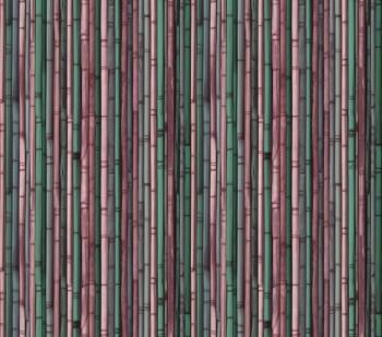 Rot-Violett Bambus Wandbild Vlies Tenue de Ville ODE 62-ODED190212