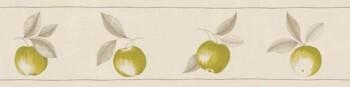 Borte Texdecor Caselio - Bon Appetit 36-BAP68417009 grün Vlies Äpfel