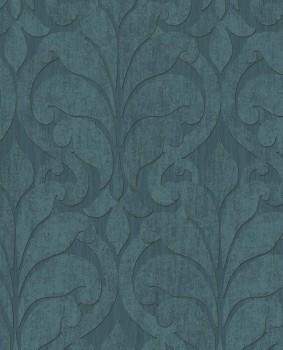 Eijffinger Siroc 55-376003 petrol-blau Vliestapete Ornamente