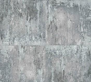 8-36118-3, 361183 AS Creation Neue Bude 2.0 Vliestapete silber-grau Used-Look