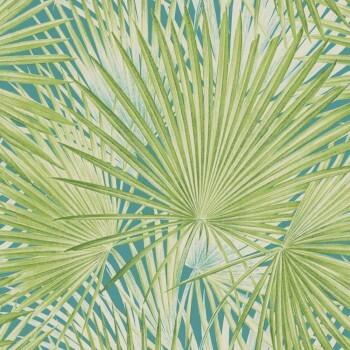 Rasch Lucy in the Sky 7-803310 Vliestapete grün Palmen