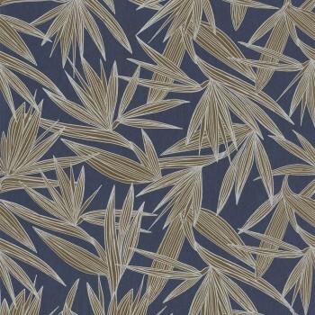 Tapete Palmenblätter blau 48-73960446 Casamance - Portfolio