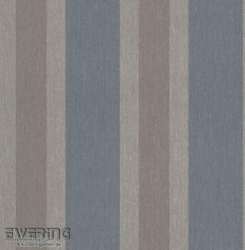23-362359 Strictly Stripes Grau-Blau Vinyltapete Streifen