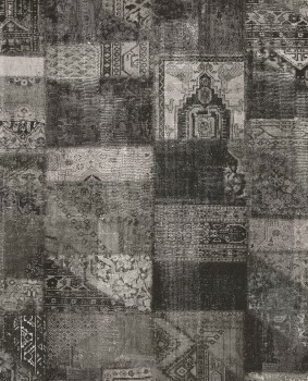 Eijffinger Masterpiece 55-358031, Vliestapete grau schwarz