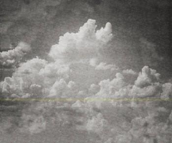 Wandbild Grau Strich Wolken 62-BLD201512 Tenue de Ville BALSAM